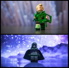 [DC] Arrow and Spectre (| Jonathan |) Tags: lego dc rebirth post crisis spectre jim corrigan custom superheroes comics green arrow oliver queen spirit vengeance boxing glove tif image high resolution cannot wait until i can make new figs holdover bokeh minifigures purist figbarf duo