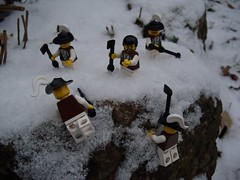 Górale na Tatry (Śląski Hutas) Tags: lego bricks minifigs snow polska poland tatra mountains