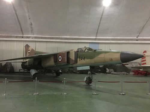 Egypt 9501 MiG-23ML, China Aviation Museum, Chinese, Xiaotangshan 30th October 2016