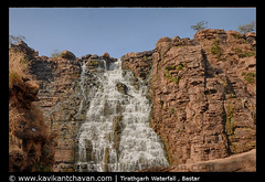 Tirathgarh Waterfall (Kavikant Chavan) Tags: tirathgarh waterfall bastar jagdalpur cascaded nikon sigma1750mm