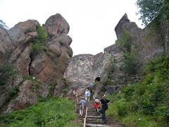 Belogradcsik, Felfelé a sziklákhoz