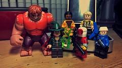 Legends (LordAllo) Tags: lego dc suicide squad classic legends rick flag deadshot bronze tiger captain boomerang enchantress blockbuster