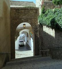 Entrada al Castillo de Hisn-Ashar  en Iznájar.(Córdoba)  Andalucía. (lameato feliz) Tags: iznájar puerta