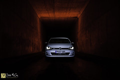 Golf GTI (Steve McCoy Photography) Tags: golfgtigolfgti vw volkswagen tunnel motorway light red paint longexposure hothatch fast fatcar