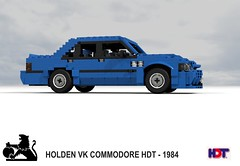 Holden VK HDT  Commodore SS Group-A 'Blue Meanie' (1985) (lego911) Tags: auto blue car sedan model gm lego general render ss australia anger racing motors management commodore brock aussie 1980s 1985 saloon bathurst challenge 91 holden cad racer lugnuts bluemeanie povray moc vk ldd hdt miniland groupa lego911 angermanager