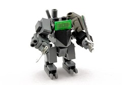 GHF Chub (Deltassius) Tags: robot war lego space military frame scifi mecha mech mf0
