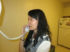 Calling home (WabbitWanderer) Tags: canada london phone calling ling zhanjiang callinghome