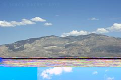 Cloud glitch... (Trapac) Tags: california pink autumn sky usa mountains green lines car yellow rock clouds nikon desert error random turquoise surreal multicoloured roadtrip randomness hills journey inthecar deathvalley mistake panels geology nikkor lonepine artifact glitch panamintvalley corrupted furnacecreek deathvalleynationalpark wmh nikkor3570mm inyocounty corruptfile digitalartifact digitalglitch filerecovery movingblue d700 nikond700 tracypackerphotography wwwtracypackercom digitalrollend panaminerange