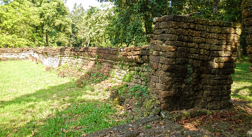 The wall of the Wat