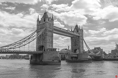 Tower Bridge (marc.stokes) Tags: street leica city bridge white black london eye tower history monochrome museum canon photography eos golden town photo natural geometry sigma fisheye hour 7d processing 1750 28 hdr wesminster