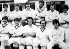 "Steeton 1st XI 1981 • <a style=""font-size:0.8em;"" href=""http://www.flickr.com/photos/47246869@N03/19065442464/"" target=""_blank"">View on Flickr</a>"