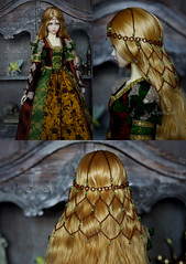 Golden Age headdress (AyuAna) Tags: bjd