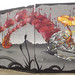 Graffiti street art - Havelock Street, Cardiff - panoramic