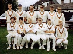 "Cricket 1992 2nd XI • <a style=""font-size:0.8em;"" href=""http://www.flickr.com/photos/47246869@N03/19499948268/"" target=""_blank"">View on Flickr</a>"