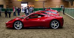 Ferrari V8 Generation collection. (KB_S1) Tags: charity cars scotland 360 ferrari 328 vehicles fundraiser v8 classiccars sportscars 430 348 308 355 erskine 458 midengined tartantarmac