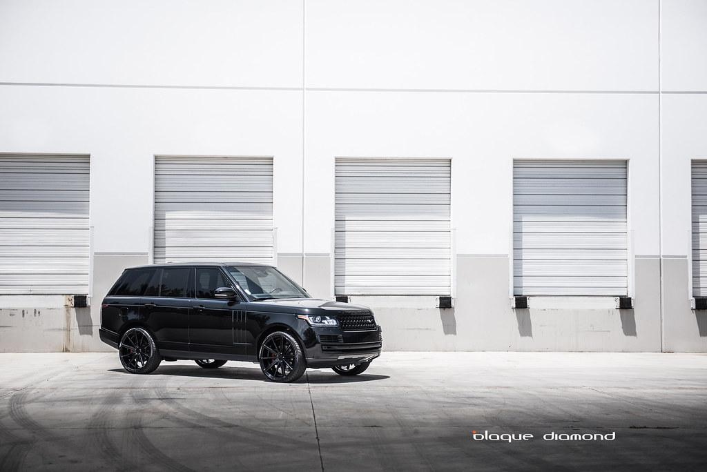 Blaque Diamond BD-9 | 2015 Range Rover