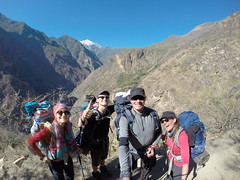 Photo de 14h - 1er jour de Trek Choquequirao, Machu Picchu (Pérou) - 09.07.2014