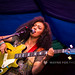 Mahalia playing her Epiphone Jack Casady Signature Bass