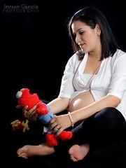 Esperando a Ana Victoria (Jetraam) Tags: family girl beautiful rio familia del canon mexico photography key low jalisco pregnant nayarit maternity fotos esperando hermosa sesion embarazo panza zapopan flashes maternidad ixtlan gaxiola yongnuo t1i jetraam