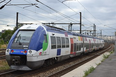 SNCF Transilien 541N (Will Swain) Tags: travel paris france station train de french europe gare north transport july rail railway trains des east railways 13th franais socit parisian fer sncf nationale transilien 2015 chemins noisylesec 541n