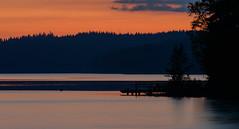 August Sunset (@Tuomo) Tags: sunset summer lake night finland nikon df august jyväskylä pf päijänne kärkinen korpilahti 300mm4