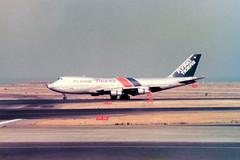 N802FT Boeing 747-123(SF) cn 20323 ln 115 Flying Tiger Line San Francisco 25Oct78 (kerrydavidtaylor) Tags: sanfranciscointernationalairport california sfo ksfo boeing747 boeing747100 flyingtigers