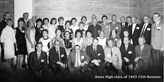 AHS 1943 25th class reunion Saturday eve at Sheldon Munn Hotel Ames Iowa AHS 1968-08-10 (ameshighschool) Tags: 1943 1943ahs 1968 25threunion ahs ahs1943 ahsaa alumni ameshighschool ameshighschoolalumniassociation amesiowa ameshighclassof1943 classphoto classreunion classmate classmates group iowa reunion scan