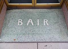 OH Celina - Bair (scottamus) Tags: celina ohio mercercounty tile entrance entry floor terrazzo storefront bair