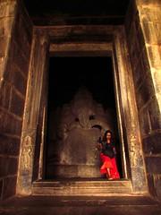 Kadalekalu Ganesha (SANAND K) Tags: s6tour hampi ganesha ganapathi sculpture 15th century india kadalekaluganesha vijayanagara unesco world heritage 15thcentury