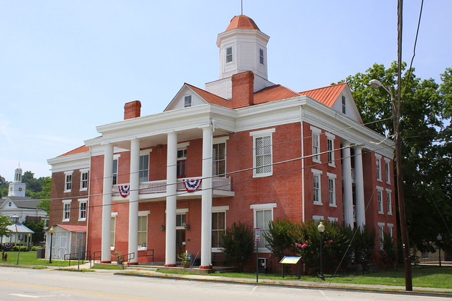 Old Roane County Courthouse - Kingston, TN