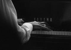 Piano Hands (jan lyall) Tags: hands piano monochrome janlyall d800 palmdesert california jazz musician explore