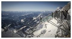 Stairway to nothingness (Der Reisefotograf) Tags: steiermark styria österreich austria snow schnee snowylandscape berge mountains stairs stairway stairwaytonothingness dachstein