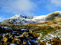 COVE BRIDGE, LAKE DISTRICT (pajacksonartist) Tags: cove bridge lake district lakedistrict lakedistrictbid lakeland landscape outdoor mountain mountains mountainside fells walnascar coniston cumbria snow beautiful stunning