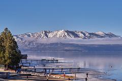 Winter Scene (AgarwalArun) Tags: sony a7m2 sonyilce7m2 tahoe laketahoe lake landscape scenic nature views snow mountains sierra