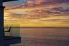 Table For One (blueteeth) Tags: cloudscape ocean deck balcony dawn sky malibu california