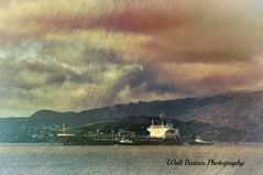 Amagi Galaxy, San Pablo Bay, CA. (Walt Barnes) Tags: millerknox clouds water bay sanpablobay topaz canon eos 60d eos60d canoneos60d wdbones99 topaztextureeffects2 topaztexture