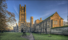 Ely Cathedral 6 (Darwinsgift) Tags: ely cathedral cambridgeshire isle hdr photomatix pce nikkor f35 24mm nikon d810