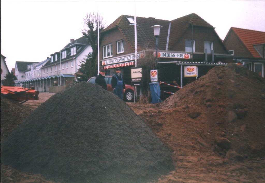 Deichbau Alt-Hohwacht