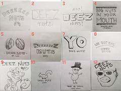 Deez Nuts Sketches (nick_rose) Tags: 20011 20011nrose