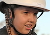 Angel 001 (DMT@YLOR) Tags: angel ride horse novice first braces helmet beautiful girl straps
