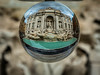 Fontana di Trevi (nheyermeyer) Tags: trevibrunnen rom workshop glasball reise fontanaditrevi glaskugel roma lazio italien it trevifountain
