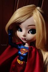 Kara [Pullip Supergirl] (Vagabonde59) Tags: pullip supergirl pullips poupée poupées doll dolls kara danvers zor el zorel