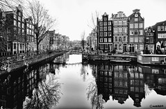 Amsterdam. (alamsterdam) Tags: amsterdam brouwersgracht earlymorning architecture ice