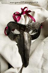 MascheraCarnevale_09w (Morgana209) Tags: carnevale handmade maschere travestirsi tradizione venezia veneziana becco nera fattoamano faidate diy tutorial divertimento festa