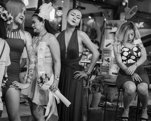 On a bar street in Hua Hin