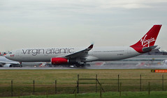 G-VNYC Airbus A330-300 of Virgin Atlantic Airways (SteveDHall) Tags: aircraft airport aviation airfield aerodrome aeroplane airplane airliner airliners airbus a330 a330300 airbusa330300 airbusa330 a333 gvnyc virginatlantic virgin virginatlanticairways vir vaa vs 2017 manchester manchesterairport ringway