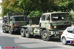 BDQJ09-4614 RENAULT G290 VTL (milinme.myjpo) Tags: frencharmy renault g290 vtl véhicule de transport logistique remorque rm19 trailer bastilleday