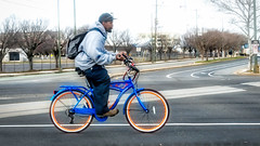 bike lane (Sky Noir) Tags: bike rider city streets rva richmond virginia va margaritaville multispeed cruiser man street ride