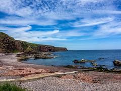 Arbroath (davidscarth56) Tags: sea coast arbroath rockybeach clearsky