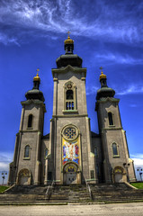 Cathedral of Transfiguration (Arvo Poolar) Tags: blue sky cathedral naturallight markham